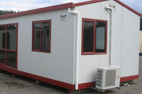 heating and cooling portable site-office