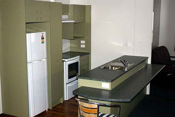 kitchen options for modcom portable accommodation units for hire or sale