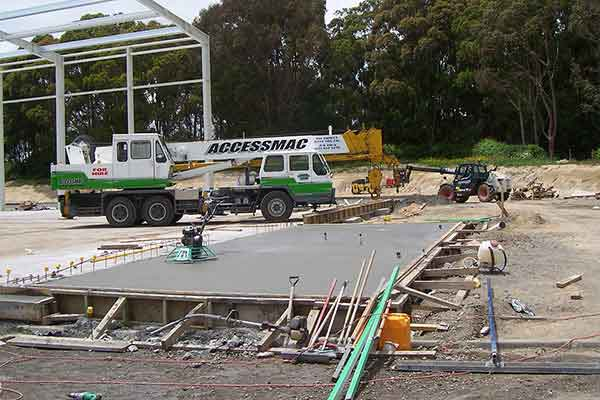 supermac industrial construction siteworks