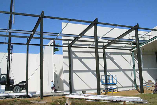 supermac industrial construction coolstore Chatham Islands